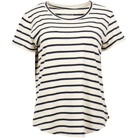 United By Blue W's Standard Striped SS Pocket Tee Blue